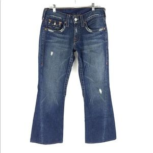 TRIE RELIGION Joey Jeans Distressed Flap Pockets